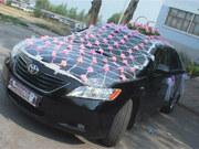 Прокат свадебного украшения для машины