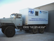 Агрегат исследования газовых скважин на шасси Урал 43206
