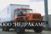 Агрегат исследования нефтегазоконденсатных скважин на шасси Урал 43206
