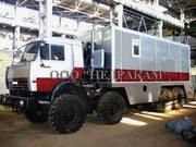Подъемник исследования нефтяных скважин на шасси Камаз  43118